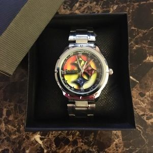 ▪️New Pittsburgh Steelers Watch With Box